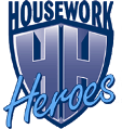 Housework Heroes | Home Cleaning | Domestic Cleaning | Australia Logo
