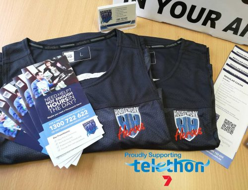 Housework Heroes – Safety Bay Fundraising for Telethon